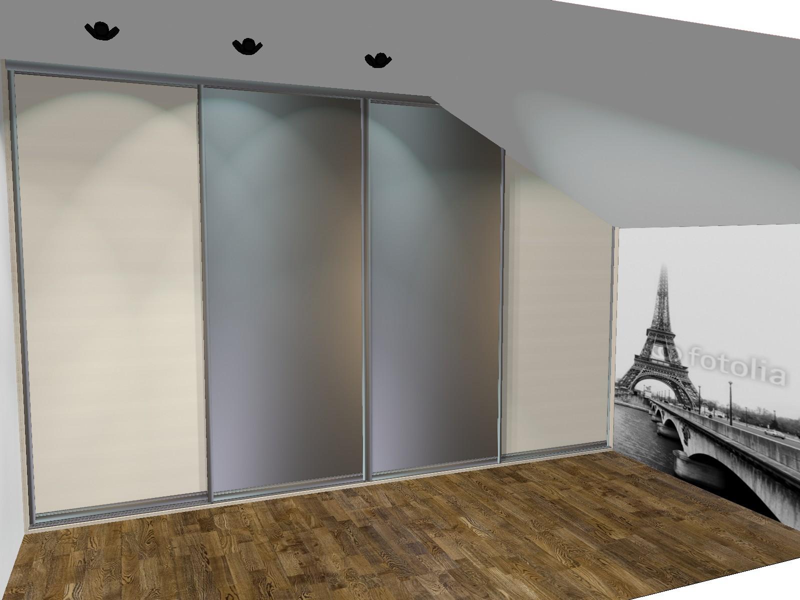 projekty szafy wnękowe